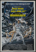 "Movie Posters:Drama, Moonraker (United Artists, 1979). Poster (40"" X 60""). Adventure. Starring Roger Moore as James Bond, Lois Chiles, Richard Ki..."