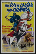 "Movie Posters:Adventure, The Son of Caesar and Cleopatra (United Artists, 1965). One Sheet(27"" X 41""). Adventure. Starring Mark Damon, Scilla Gabel,..."