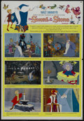 "Movie Posters:Action, The Sword in the Stone (Buena Vista, 1963). One Sheet (27"" X 41"")Style B. Animated Musical. Starring the voices of Sebastia..."
