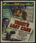 "Movie Posters:Mystery, Trent's Last Case (Republic, 1953). Lobby Card (11"" X 14"") and Onesheet (27"" X 41""). Mystery. Starring Michael Wilding, Mar...(Total: 2 Items)"