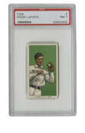 Baseball Cards:Singles (Pre-1930), 1909-11 T206 Frank LaPorte PSA NM 7. While the T206 cards were at their point of highest circulation, Frank LaPorte was enj...