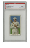Baseball Cards:Singles (Pre-1930), 1909-11 T206 Rube Oldring Batting PSA NM 7. Both variations of Rube Oldring's cards from the T206 issue are made available ...