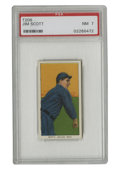 """Baseball Cards:Singles (Pre-1930), 1909-11 T206 Jim Scott PSA NM 7. The White Sox hurler known a """"Death Valley Jim"""" is the subject of this Near Mint cardboard..."""