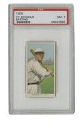 Baseball Cards:Singles (Pre-1930), 1909-11 T206 Cy Seymour Batting PSA NM 7. Sparkling Near Mint example from the most popular tobacco issue. This one featur...