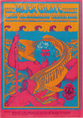 "Music Memorabilia:Posters, Moby Grape ""Neptune's Notion"" Avalon Concert Poster FD-49 (FamilyDog, 1967). For those in the know, Moby Grape was one of t...(Total: 1 Item)"