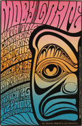 "Music Memorabilia:Posters, Moby Grape Winterland/Fillmore Concert Poster BG-56 (Bill Graham,1967). The Bay Area rockers known for the songs ""Hey Gran...(Total: 1 Item)"
