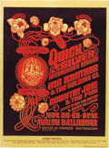 Music Memorabilia:Posters, Quicksilver Messenger Service Avalon Concert Poster FD-36 (FamilyDog, 1966). Zap Comix artist Victor Moscoso provided... (Total: 1Item)