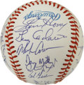 Autographs:Baseballs, 1991 New York Yankees Team Signed Baseball. The 1991 Bronx Bombersprovide a collection of 27 signatures, all applied to th...