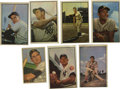 Baseball Cards:Lots, 1952-54 Bowman Baseball Group Lot of 56. Group of over 50 cards from Bowman issues originating from the classic era of 1952...