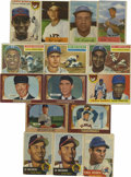 Baseball Cards:Lots, 1953-56 Baseball Group Lot of 15. Great collection of stars from the 1953-56 Topps and Bowman baseball issues is offered he...
