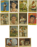 Baseball Cards:Lots, 1955-59 Baseball Cards Group Lot of 96. From Fleer, Topps and Bowman issues spanning the years 1955-59, we offer this great...