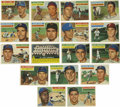 Baseball Cards:Lots, 1956 Topps Baseball Group Lot of 17. Truly one of the most adored baseball issues in the hobby, the '56 Topps set made trem...