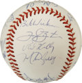 Autographs:Baseballs, 1994 New York Yankees Team Signed Baseball. The winners of the ALEast for the 1994 season are represented here with this O...