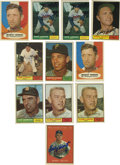 Autographs:Sports Cards, 1961 Topps Baseball Signed Cards Group Lot of 42. Here we make available 42 signed cards from the 1961 Topps issue. Highlig...