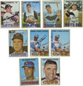 Autographs:Sports Cards, 1967 Topps Baseball Signed Cards Group Lot of 38. From the '67Topps baseball issue we offer this group lot of 38 signed ca...