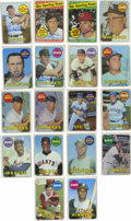 Autographs:Sports Cards, 1969 Topps Baseball Group Lot of 695, 195 Signed. Nearly every cardfrom the 664-card Topps Baseball issue is being offered...