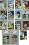 Autographs:Sports Cards, 1970 Topps Baseball Near Complete Set (712/720), 173 Signed. Missing only eight cards from the 1970 Topps issue, this impre...