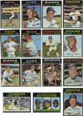 Autographs:Sports Cards, 1971 Topps Baseball Near Complete Set (743/752), 85 Signed. Fromthe black-bordered 1971 Topps issue we offer this near set...