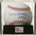 "Autographs:Baseballs, Steve Carlton ""HOF 94"" Single Signed Baseball, PSA Gem Mint 10.Lefty's perfect signature resides on the equally pristine o..."