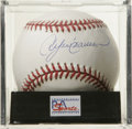 "Autographs:Baseballs, Andre Dawson Single Signed Baseball, PSA Mint 9. Unimprovable inksignature has been applied by ""The Hawk"" Andre Dawson. B..."
