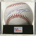 Autographs:Baseballs, Vladimir Guerrero Single Signed Baseball, PSA Gem Mint 10. Thanksto Vladdy we can offer this Gem Mint single from one of t...