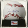 "Autographs:Baseballs, Alex Rodriguez ""#13"" Single Signed Baseball, PSA Mint 9. Yankeesuper slugger Alex Rodriguez makes available his desirable ..."
