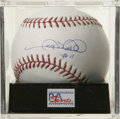 Autographs:Baseballs, Gary Sheffield Single Signed Baseball, PSA Mint+ 9.5. Fresh offinjury, Gary Sheffield hopes to help his AL-leading Yankees...