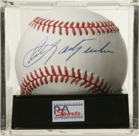 Carl Yastrzemski Single Signed Baseball, PSA Mint 9. Ted Williams' left field replacement has allowed us to make this me...