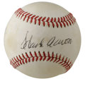Autographs:Baseballs, Hank Aaron Single Signed Baseball. Our current Home Run King HankAaron has applied his famous signature to the sweet spot ...