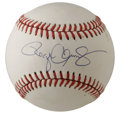 Autographs:Baseballs, Roger Clemens Single Signed Baseball. The sound of naysayers couldbe heard once Roger Clemens introduced the idea of once ...