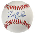 Autographs:Baseballs, Mike Cuellar Single Signed Baseball. The 1969 NL Cy Young winnerMike Cuellar checks in on this OAL (Brown) baseball, addin...