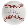Autographs:Baseballs, Bob Murphy Single Signed Baseball. Recently deceased sportscasterBob Murphy was best known as the Mets broadcast man from ...