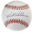 Autographs:Baseballs, Matt Williams Single Signed Baseball. Matt Williams, known for hisdays in San Francisco, now enjoys part-ownership of the ...