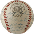 Autographs:Baseballs, 1959 Philadelphia Phillies Team Signed Baseball. While the 1959Philadelphia Phillies did little to impress on the diamond ...
