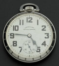 Timepieces:Pocket (post 1900), Hamilton Steel Cased 21 Jewel 992 B. ...