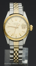 Timepieces:Wristwatch, Rolex Ref. 6917 Lady's Two Tone, circa 1974. ...
