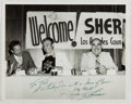 Autographs:Celebrities, Danny Thomas (1912-1991, American Film and Television Actor).Inscribed Photograph to Ted Gunderson, Former Head of the FBI in...