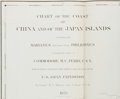Books:Maps & Atlases, [Perry's Expedition]. Original Map of China and Japan from Narrative of the Expedition of an American Squadron to the Ch...