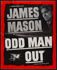 "Odd Man Out (Universal International, 1947). Uncut Pressbook (14. 5"" X 18"", 16 Pages). Thriller"