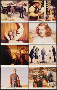 "Paper Moon (Paramount, 1973). Mini Lobby Card Set of 8 (8"" X 10""). Comedy. ... (Total: 8 Items)"
