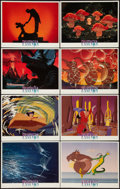 "Movie Posters:Animation, Fantasia (Buena Vista, R-1990). Lobby Card Set of 8 (11"" X 14"").Animation.. ... (Total: 8 Items)"