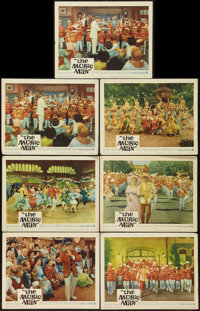 """The Music Man (Warner Brothers, 1962). Lobby Cards (7) (11"""" X 14""""). Musical. ... (Total: 7 Items)"""