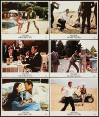 """For Your Eyes Only (MGM/United Artists, R-1984). Lobby Cards (6) (11"""" X 14""""). James Bond. ... (Total: 6 Items)"""