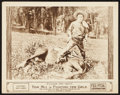 """Movie Posters:Western, Fighting for Gold (Fox, 1919). Lobby Card (11"""" X 14""""). Western.. ..."""