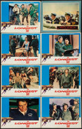 "Movie Posters:War, The Longest Day & Other Lot (20th Century Fox, R-1969). LobbyCards (7) (11"" X 14"") & British Lobby Card (11"" X 14""). War..... (Total: 8 Items)"