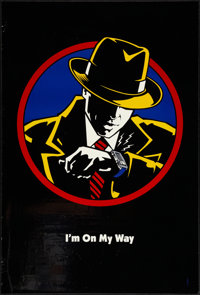 "Dick Tracy and Rollercoaster Rabbit (Buena Vista, 1990). One Sheets (2) (27"" X 40"") DS, ""I'm On My Way&qu..."