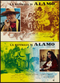 "Movie Posters:Western, The Alamo (United Artists, 1961). Italian Photobustas Set of 6 (18"" X 26.5"" & 26.5"" X 36.5). Western.. ... (Total: 6 Items)"