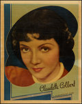 """Movie Posters:Comedy, Claudette Colbert (Paramount, 1936). Personality Poster (22"""" X28""""). Comedy.. ..."""