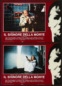 "Halloween II (Universal, 1982). Italian Photobusta Set of 8 (18"" X 26""). Horror. ... (Total: 8 Items)"
