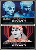 "Movie Posters:Science Fiction, Tron (Buena Vista, 1982). Italian Photobustas Set of 8 (18"" X 26"").Science Fiction.. ... (Total: 8 Items)"